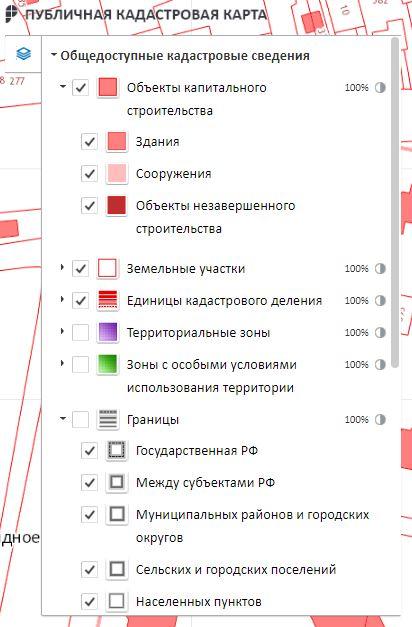 Управление Публичной кадастровой картой Московской области