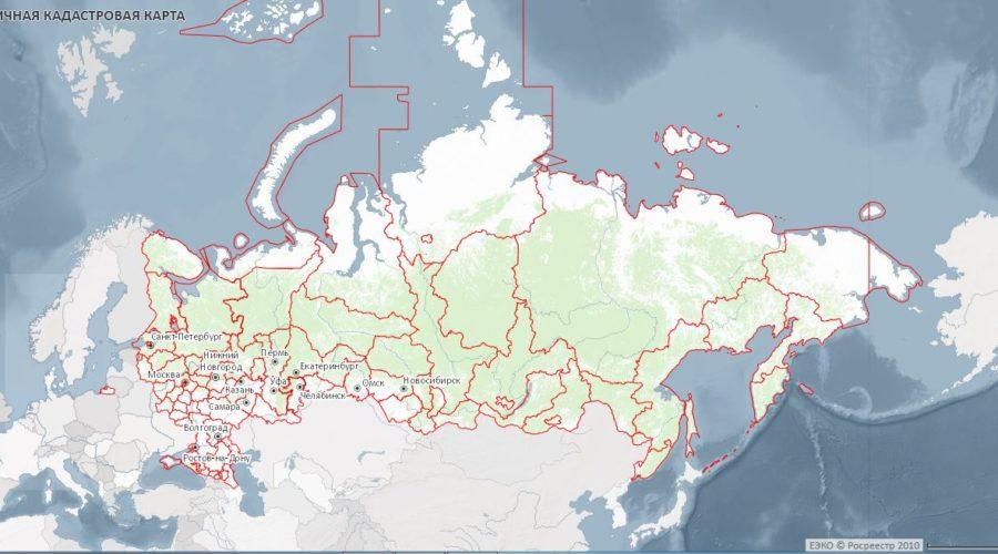 Публичная кадастровая карта РФ