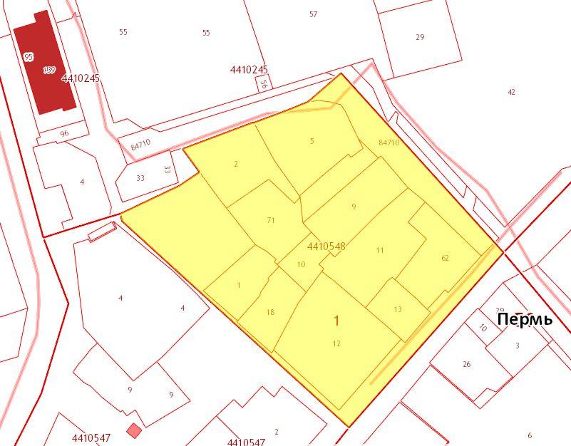 Публичная кадастровая карта - Кадастровый квартал